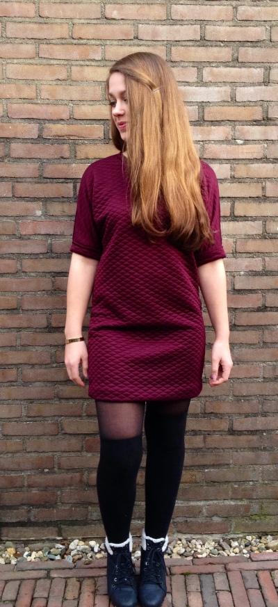 OOTD X-mas Outfit Boohoo Dress
