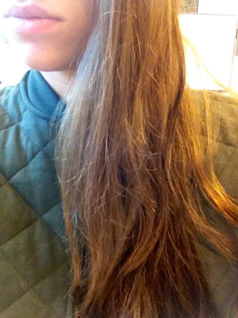 Haar na gebruik Hair Repair Hot Oil