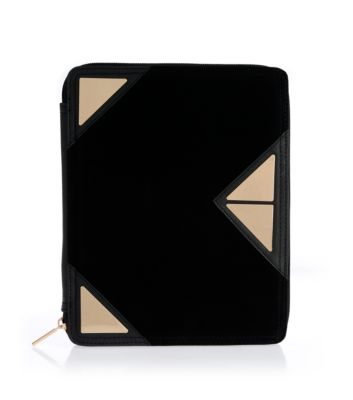 Black and Gold Tap Ipad Case