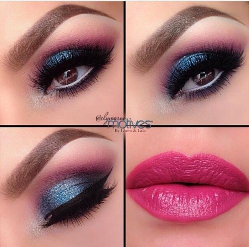 Make-up Look Rose