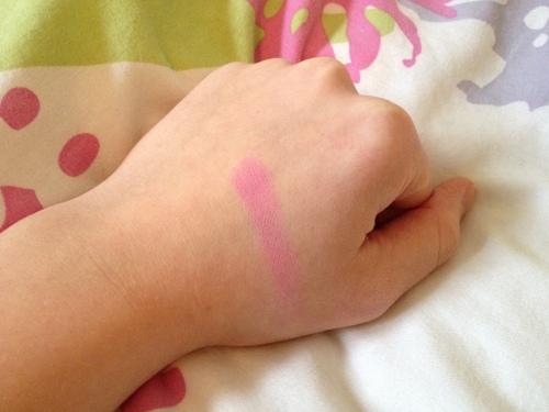 MUA Make-Up Academy Blush Marshmallow Swatch