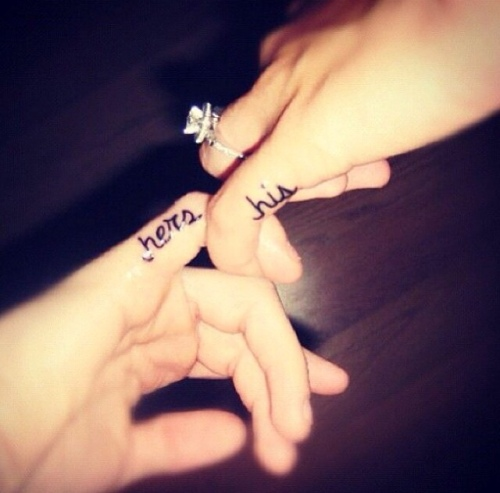 Tattoo His, Hers