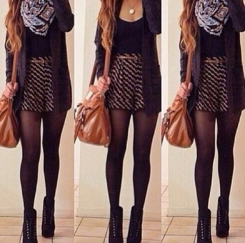 Outfit skirt print