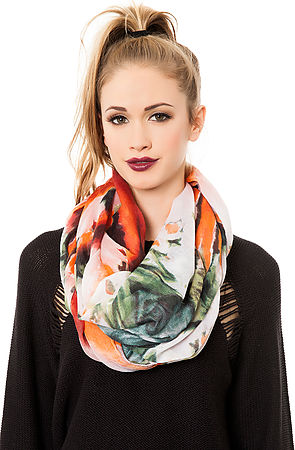 Printed Village The Red Fire Scarf