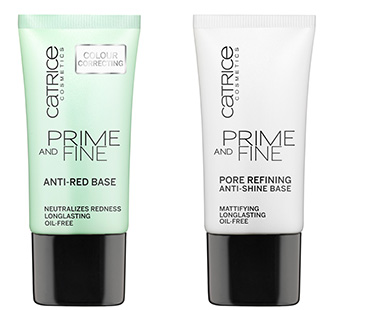 Prime And Fine  Anti-Red Base & Prime And Fine  Pore Refining And Anti-Shine Base