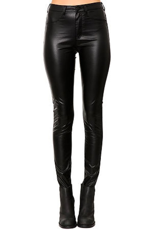 Widow The High Waisted Faux Leather Pant