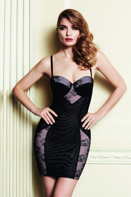 black lingerie Primark Valentijnsdag/valentines day