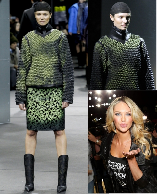 Candice Swanepoel NYFW 2014 by Alexander Wang