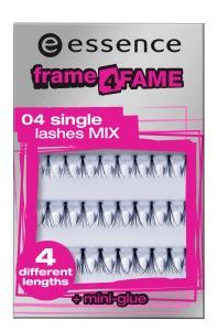 essence frame 4 fame lashes 04 single lashes MIX