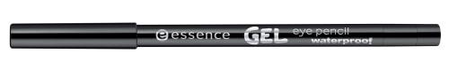 essence GEL eye pencil waterproof 01 black blaze