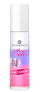 essence gel nails at home 3in1 nail oil