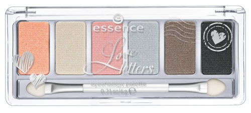 essence love letters eyeshadow palette 01 ever thine,ever mine,ever ours
