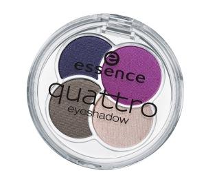 essence quattro eyeshadow 14 magenta and me