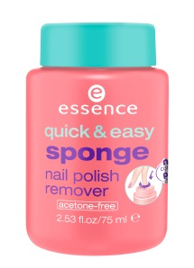 essence quick & easy sponge nail polish remover