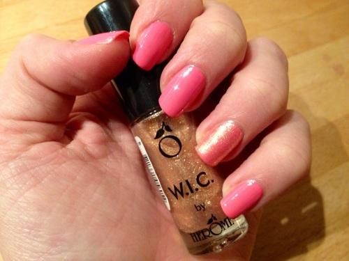'145 Abudhabi' W.I.C. by Herôme & '262 Pink Boom' Maybelline