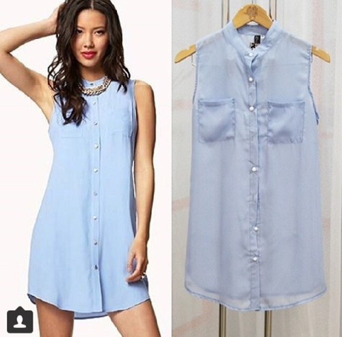 Denim dress/blouse