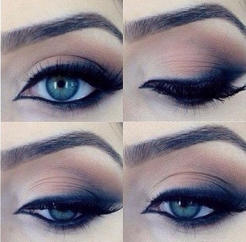 Eye make-up look