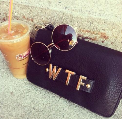 clutch & zonnebril