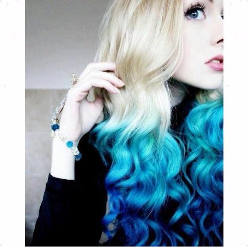blue dye dip