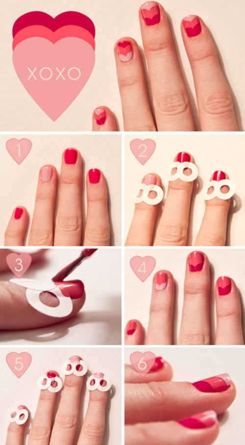 Valentine's day nail-art