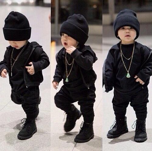 Cute style boy