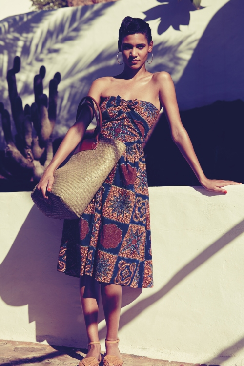 Primark African Print Dress
