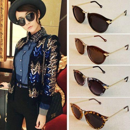 Retro Round Sunglasses Ebay