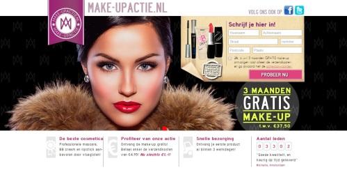 Make-up actie.nl