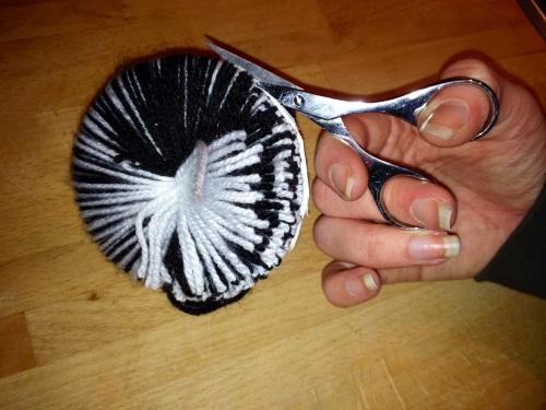 DIY Pom poms vs. Beanie