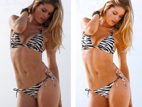 Photoshop Doutzen Kroes