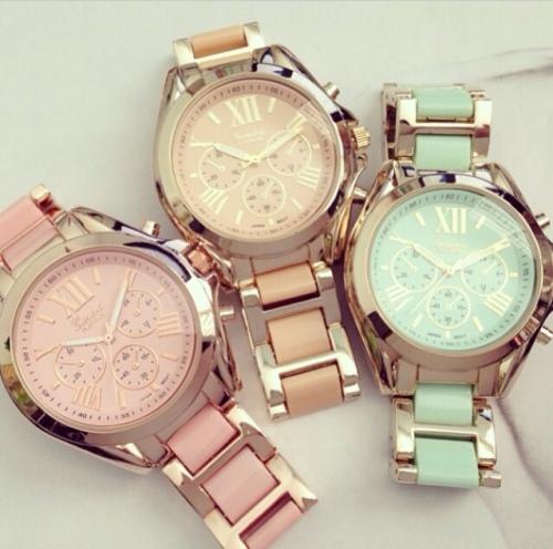 Mint watch/horloge