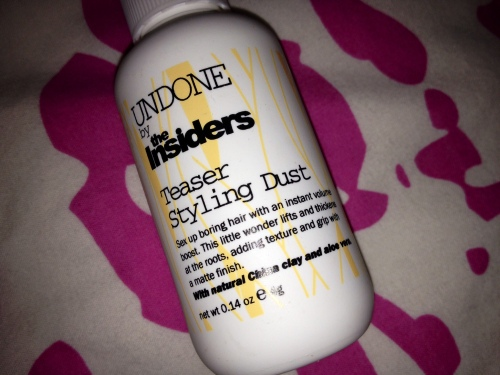 The Insiders Undone Teaser Styling Dust