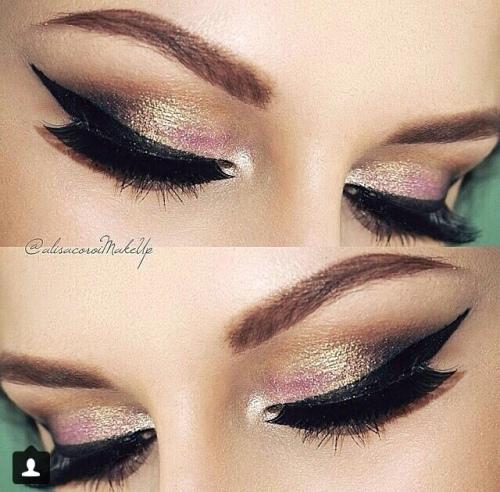 Perfect eyeliner make-up look