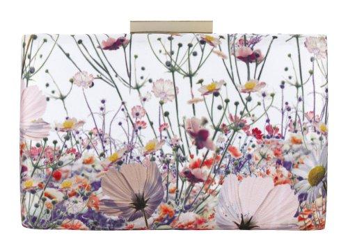 Rechthoekige handtas met bloemmotief Marks & Spencer