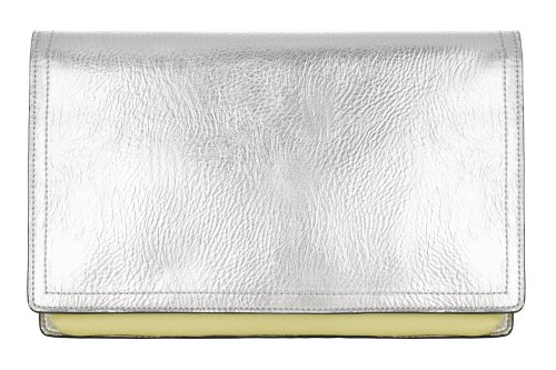 Clutch-tas met metallic effect Marks & Spencer