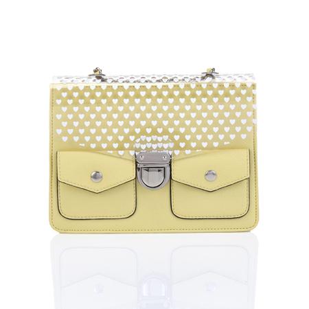 Kleine schoudertas met hartjesprint Marks & Spencer