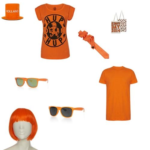 Oranje met Primark