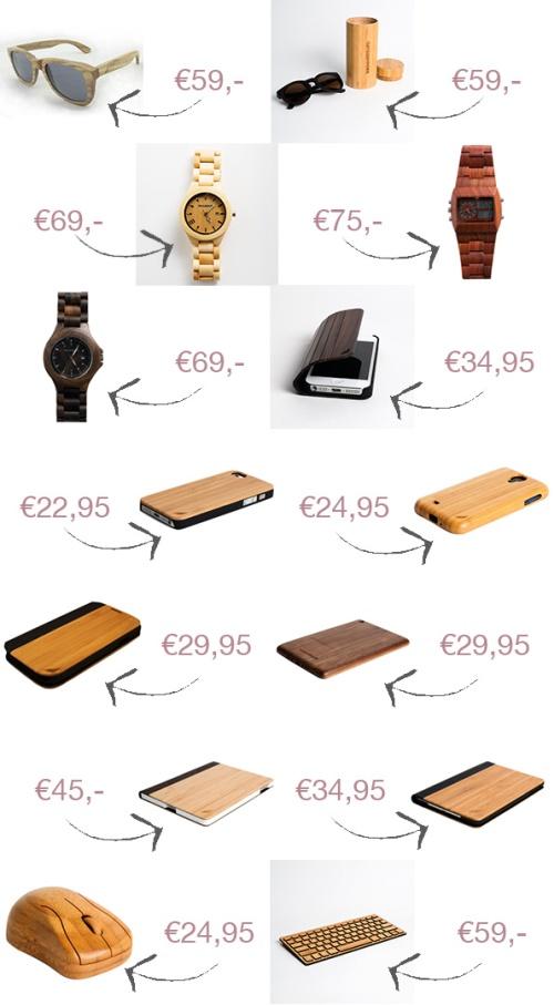 WoodStuff houten accessoires Hout-Trend