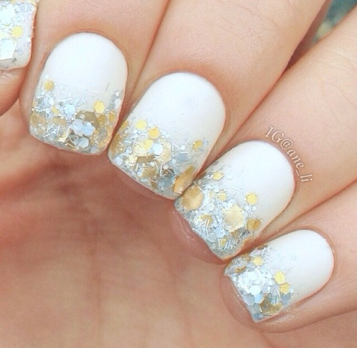 Glitter Manicure @Ane_li