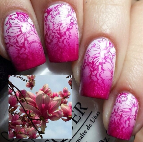 Flower Nail-art