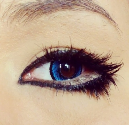 Manga oog make-up