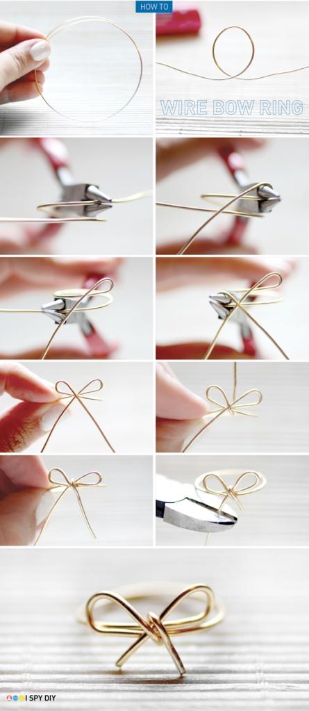Bow Ring DIY