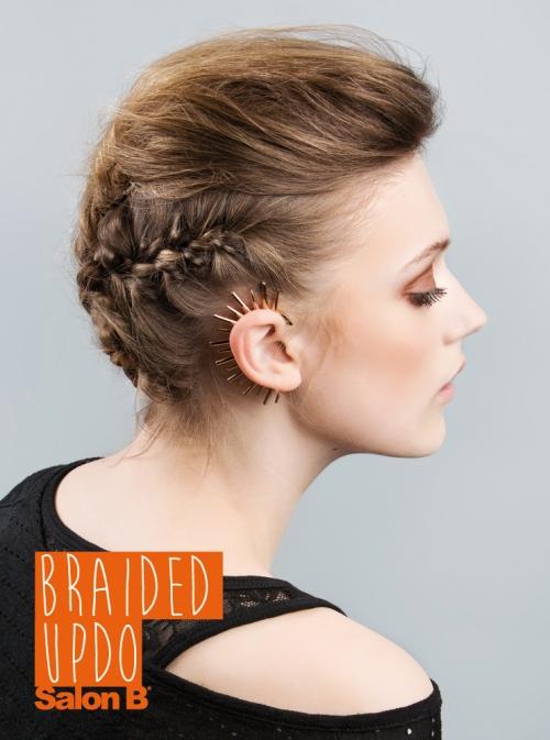 Braided Updo Salon B