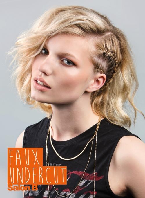 Faux Undercut Salon B