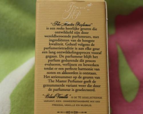Kruidvat Parfum Black Vanilla N°7