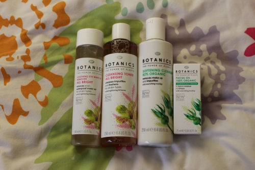 Boots Botanics Softening Cleanser & Facial Oil