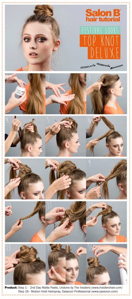 Salon B Hair Tutorial